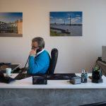 Michael Weinsberg am Telefon